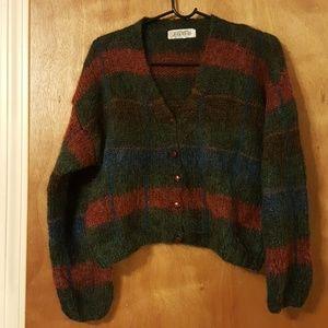 Vintage Andrea Behar for Jabé Mohair/Wool Cardigan